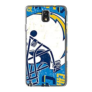 JoannaVennettilli Samsung Galaxy Note 3 Protector Hard Cell-phone Cases Allow Personal Design Fashion San Diego Chargers Skin [PrE2131xFNx]