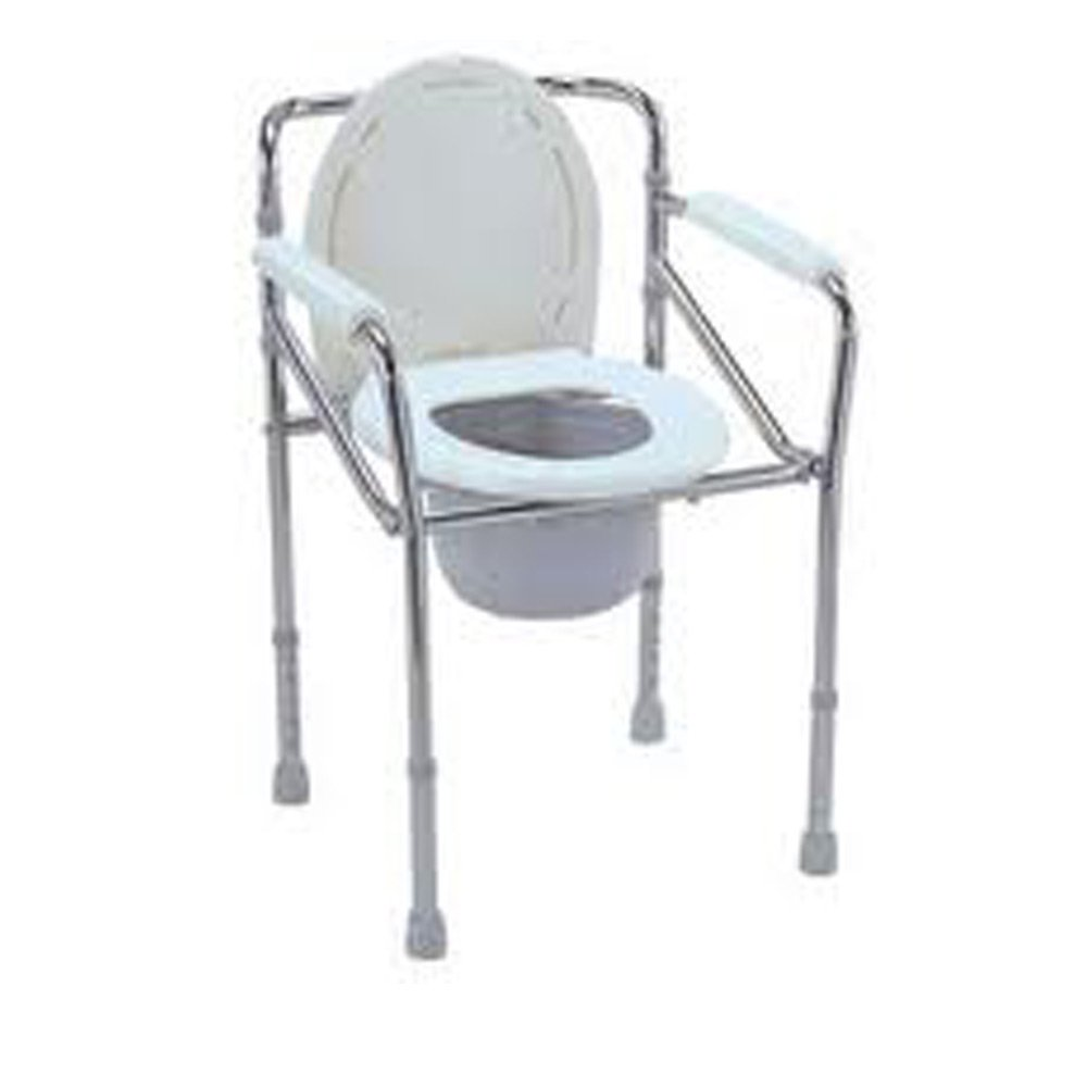 Folding commode chair - Buy Karma Commode Folding Chair Rainbow 2 Online At Low Prices In India Amazon In