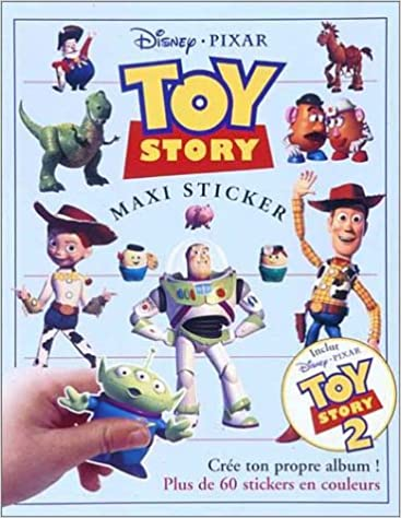 Téléchargements gratuits de livres électroniques pour kindle Toy Story 2 : maxi sticker PDF