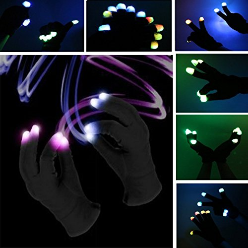 51C5CT3tE8L - Creative Toys for Girls Boys, TOP Toy Flashing LED Gloves Gifts for Teen Girls Boys Toys for 3-12 Year Old TTUSTTG03