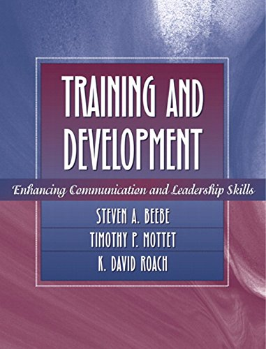 Training and Development: Enhancing Communication and...
