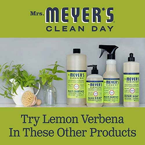 Mrs. Meyer's Clean Day Multi-Surface Everyday Cleaner, Lemon Verbena, 16 fl oz., 3 ct