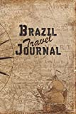 Brazil Travel Journal: 6x9 Travel Notebook with prompts and Checklists perfect gift for your Trip to Brazil for every Traveler