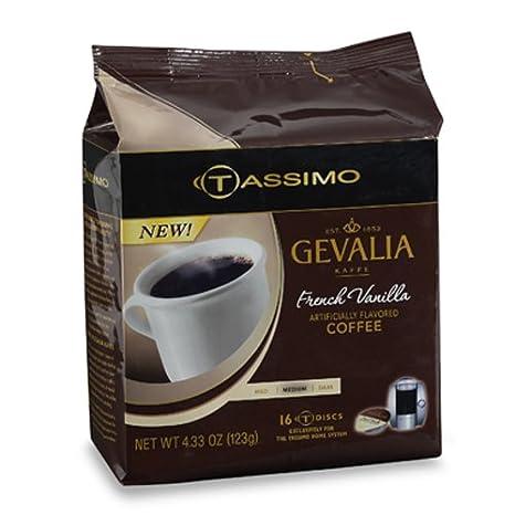 Gevalia - Juego de 5 discos en T para cafetera Tassimo ...