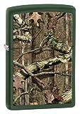 Zippo Green Matte Mossy Oak Break-Up Infinity Lighter