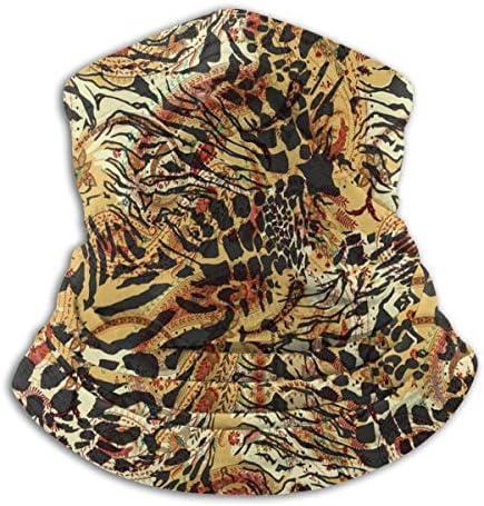 Tiger Skin ネックガード 吸汗 通気 バンダナ 防虫 防寒 フェイスガード 多機能 日よけ サイクリングカバー