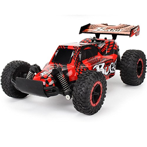 Electric Buggy 4wd Kit ([RC Car] 1:16 2WD High Speed Racing Car Remote Control Truck Off-Road Buggy Toys (Red))