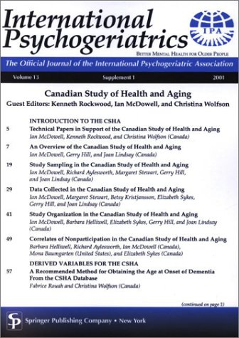 Canadian Study of Health and Aging