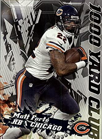 54e8e733f42 Amazon.com: 2014 Topps 1000 Yard Club #5 Matt Forte - Chicago Bears ( Football Cards): Collectibles & Fine Art
