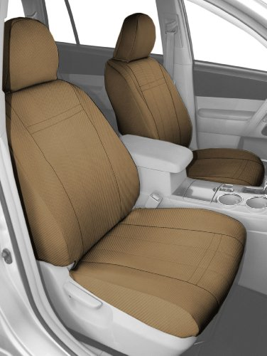 Caltrend Middle Row Bucket Custom Fit Seat Cover for Sele...