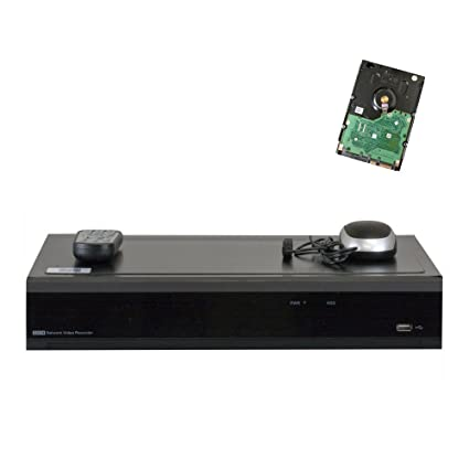 GW Security 32 Channel H.265 4K HDMI NVR / Network Video Recorder, 16CH