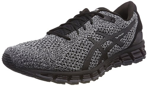 ASICS Men Gel-Quantum 360 Knit 2, Black/White/Black Black/White/Black