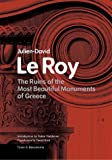 The Ruins of the Most Beautiful Monuments of Greece (Texts & Documents)