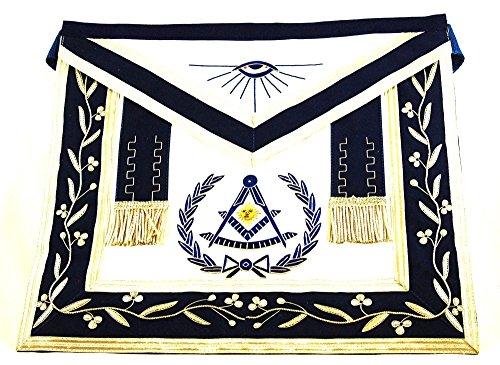[해외]D2518 프리메이슨 앞치마 마스터/D2518 Masonic Apron Past Master