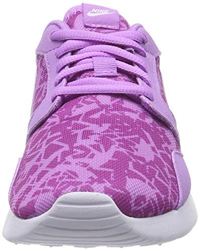 Glow Sneakers Viola Print white fuchsia Basses Kaishi Flash Nike fuchsia violett Femme n8x4Ea