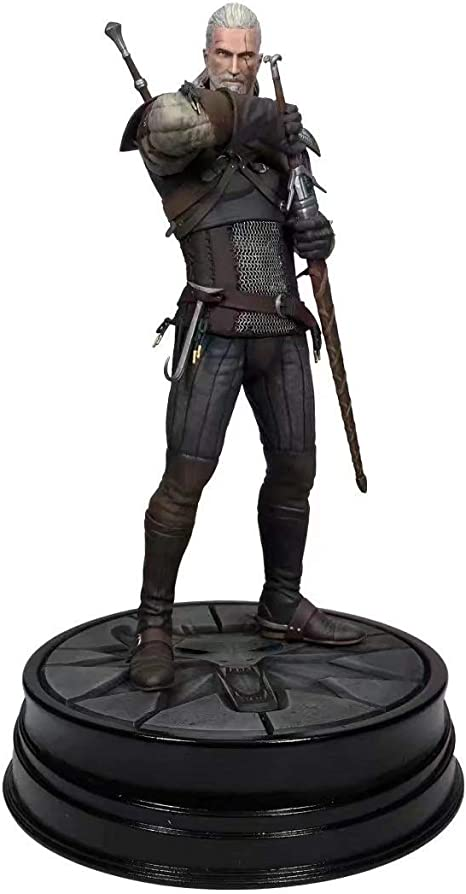 The Witcher 3 Wild Hunt Geralt Ursine Action Vinyl Figure 24cm