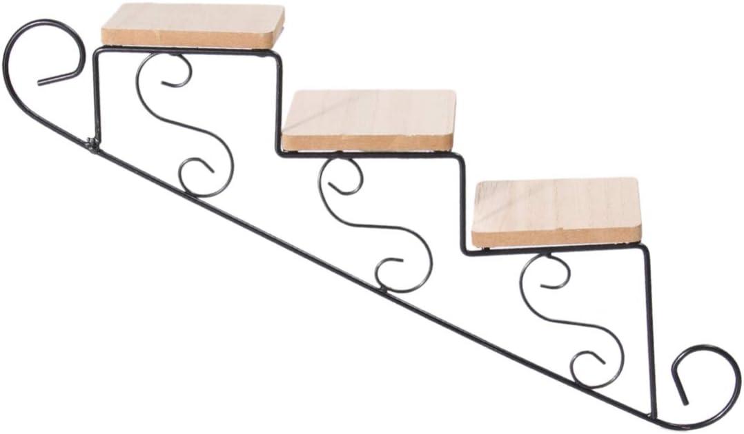 VOSAREA - Maceta colgante, maceta para pájaros, faroles, patio, césped, jardín, para estanterías, valla de tornillo, contra el brazo de la puerta