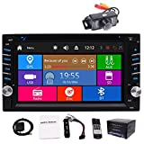 In-Dash Double 2 DIN Car Autoradio Stereo Headunit CD DVD Player 6.2inch Touch Screen Bluetooth GPS Navigation System Auto Radio FM AM MP3 Car GPS Stereos Free Backup Camera Map Card For Sale