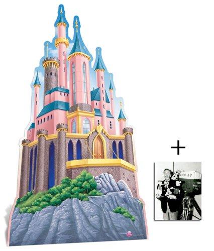 Fan Pack - Disney Princess Castle Huge Cardboard Cutout / Standee - Includes 8x10 (20x25cm) Star -