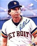 Darrell Evans Autographed /Original Signed 8x10 Color Photo Showing Him w/ the Detroit Tigers