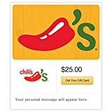 Chili's Grill & Bar Yellow Gift Cards - E-mail Delivery