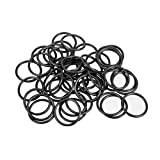 uxcell O-Rings Nitrile Rubber, 15mm Inner Diameter, 18mm OD, 1.5mm Width, Round Seal Gasket(Pack of 50)