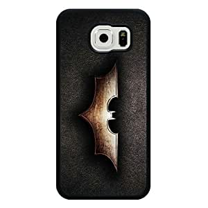 Samsung Galaxy S6 Case, Customized Black Soft Rubber TPU Samsung Galaxy S6 Case, Batman Galaxy S6 Case(Not Fit for Galaxy S6 Edge)