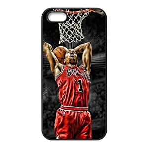 Derrick Rose New Printed Case for Iphone 5,5S, Unique Design Derrick Rose Case