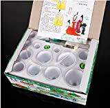 12-Body-Cupping-Healthy-Kit-6-Therapy-Massager-Magnets-by-GokuStore