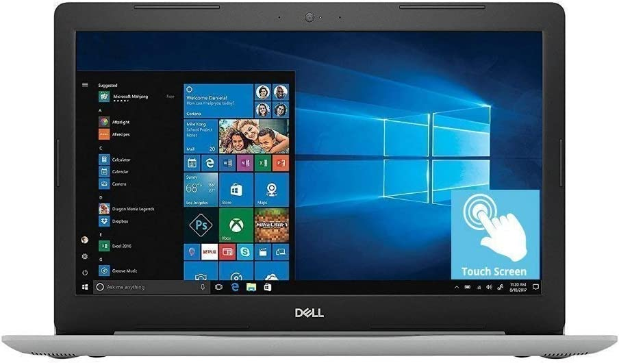 Dell Inspiron 15 5000 15.6 inch Full HD Touchscreen Backlit Keyboard Laptop PC, Intel Core i5-8250U Quad-Core, 8GB DDR4, 1TB HDD, Bluetooth 4.2, WiFi, Windows 10 (Renewed)