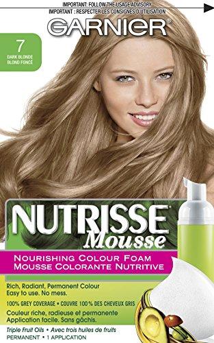 Garnier  Nutrisse Nourishing Color Foam, Dark -