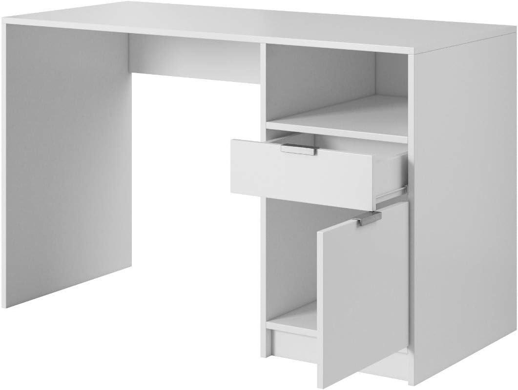 E-com - Mesa de Escritorio LYN - 120 cm: Amazon.es: Hogar