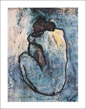 Pablo Picasso - Blue Nude, C.1902 22 x 28