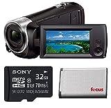 Sony HD Video Recording HDRCX405 Handycam Camcorder (Camcorder Bundle)