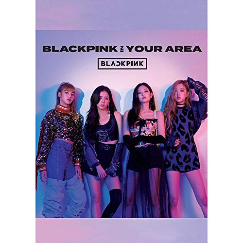Chutoral Kpop Blackpink Poster Prints, Kill This Love Scrolls Poster Banner for Collect Home Wall Bedroom Decoration, 42x29cm(H30) from Chutoral
