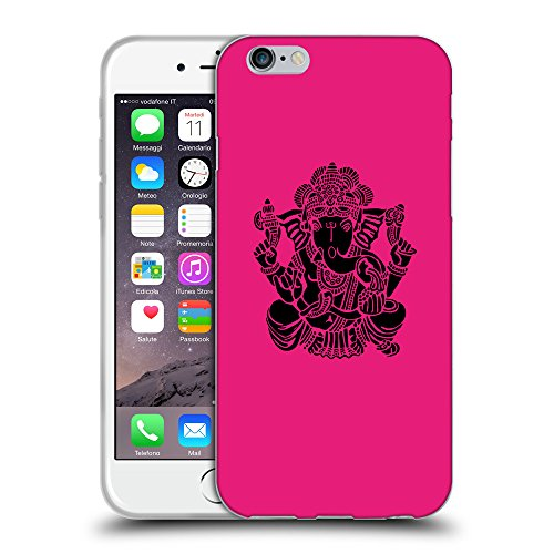 GoGoMobile Coque de Protection TPU Silicone Case pour // Q08150616 Hindou 6 Rose pétant // Apple iPhone 6 4.7""