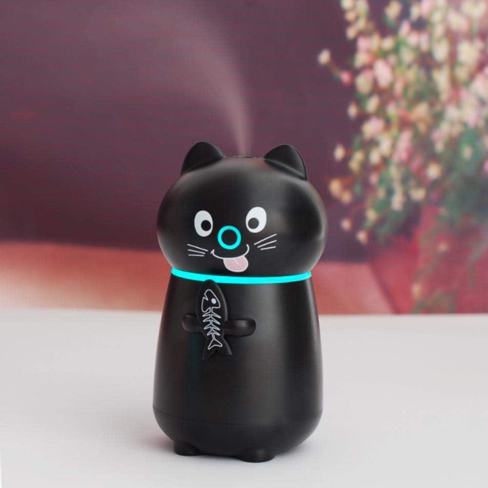 USB Night Light Intelligent Three in One Cute Cat Humidifier