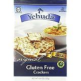 Yehuda Matzoh Gluten Free Matzo Crackers, Original, 4.4 Ounce