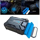HeavFYj Mini Vacuum Air Extracting USB Cooling Pad Cooler Fan for Notebook PC