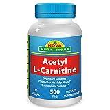 Nova Nutritions Acetyl L-Carnitine 500 mg 120 Vcaps