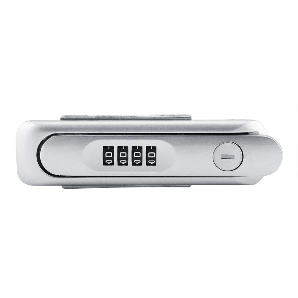 Cabinet Password Safe Lock Sliver Digital Zinc Alloy Code Combination Cam Cabinet Convenient Password Safe Lock with Keys