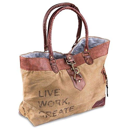 Mona B Live Work Create Shoulder Bag M-1966 Phd - Fba