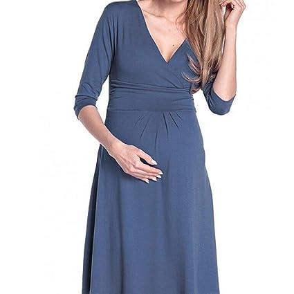 Sunjing Pijamas De Maternidad para Mujer/Vestidos De Lactancia/Pijamas De Enfermería/Vestidos