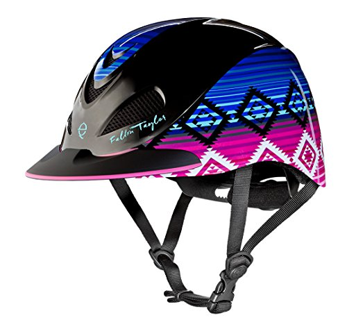 Troxel Fallon Taylor Performance Helmet, Candy Serape, ()