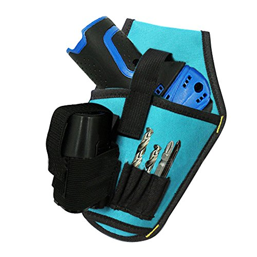 ILLIO Waterproof Waist Carpenter Rig Hammer Tool Bag Pockets Electrician Tool Pouch Pack Canvas Electrical Repair Instrument Case NEW PRODUCT