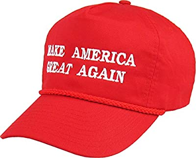 Make America Great Again - Donald Trump 2016 Campaign Cap Hat (009) Red