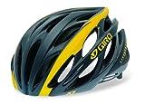 Giro Saros Road/Racing Bike Helmet (Small, Matte Black/Yellow Lance Armstrong Collection) For Sale