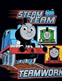 Thomas the Train Little Boys Toddler Short Sleeve Shirt Steam Team Navy