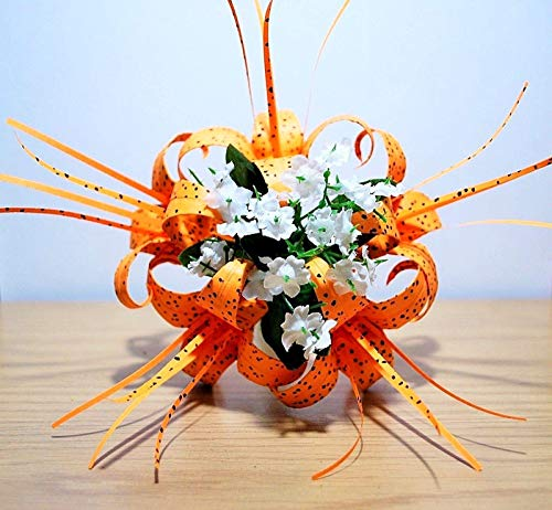 Grow Easter Lily (Origami Tiger Lily paper flower bouquet decor centerpiece anniversary GIFT)