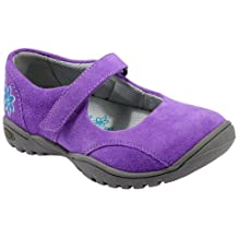 Keen Girls' Luna MJ (Toddler/Youth) Ultra Violet/Caribbean Sea flats 6 (Youth) M